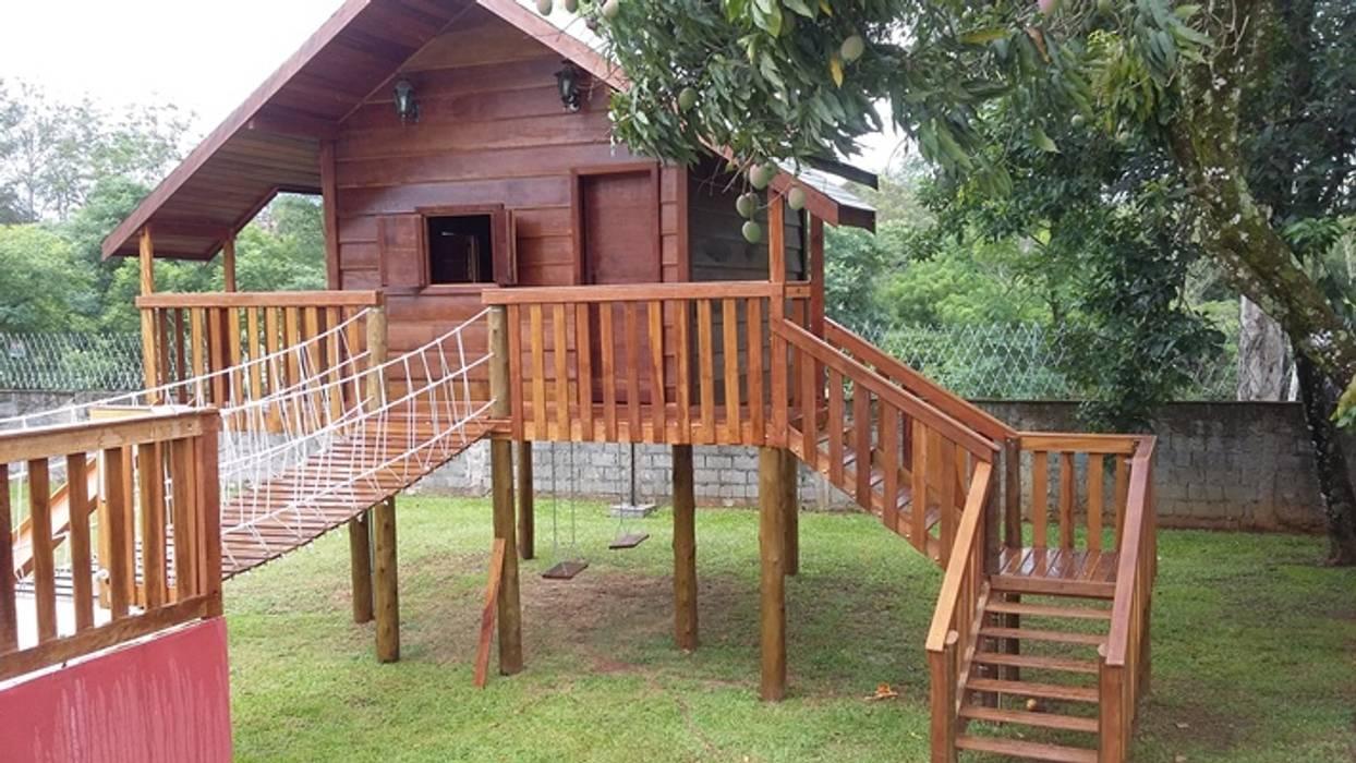 حديقة Zen تنفيذ AGM Construções e Reformas , إستوائي