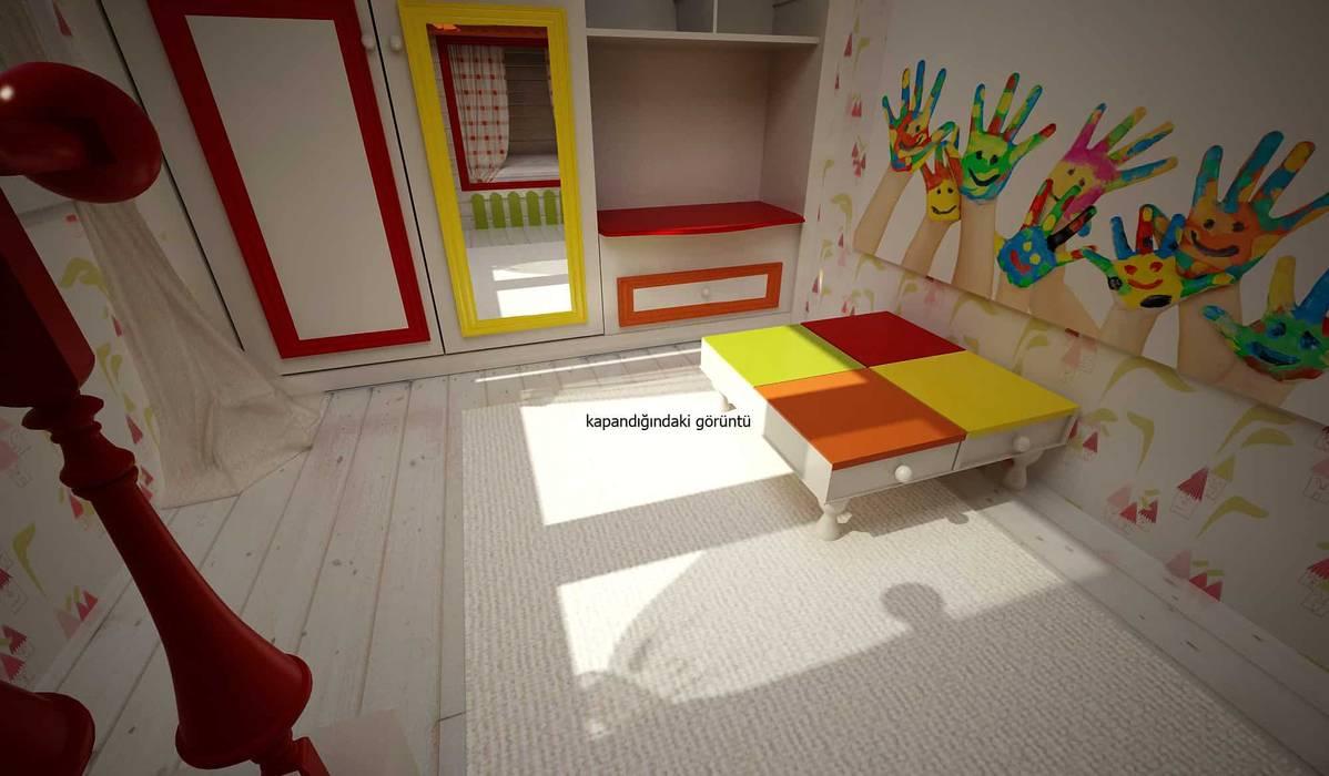 benna iç mimarlık – Bağdat caddesi çocuk odası 6:  tarz Genç odası,