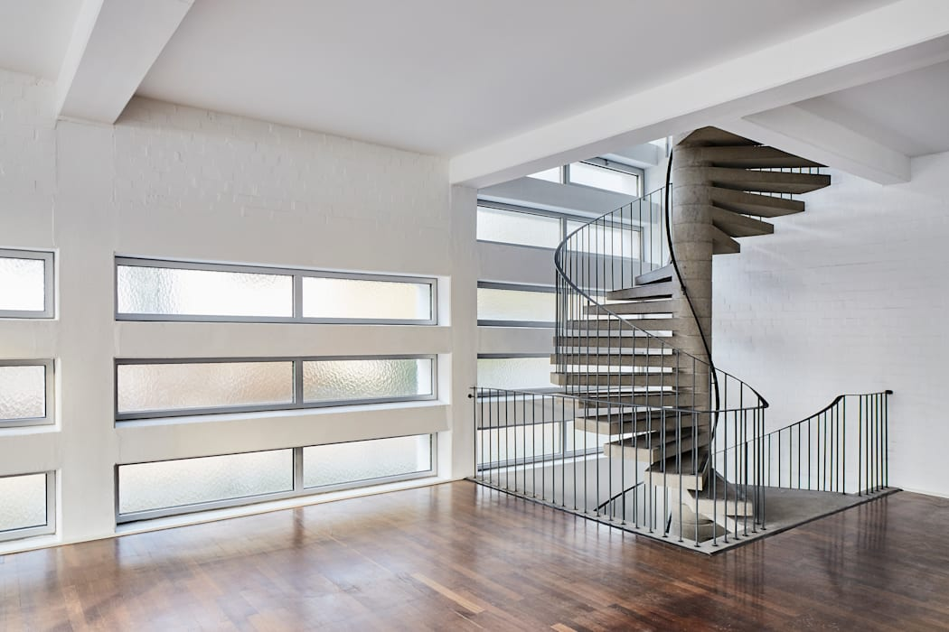 Wohnung Mit Loftcharakter Treppe Von Studio1073 Modern Homify