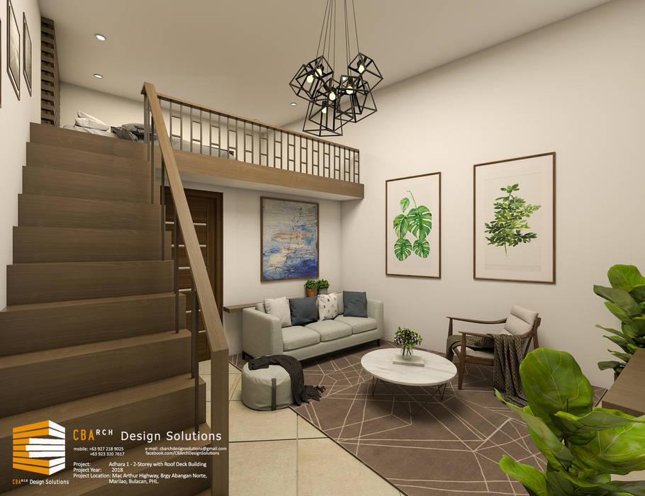 CB.Arch Design Solutions Powierzchnie handlowe Beżowy