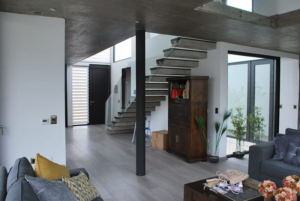 : Livings de estilo  por DARQ studio, Moderno
