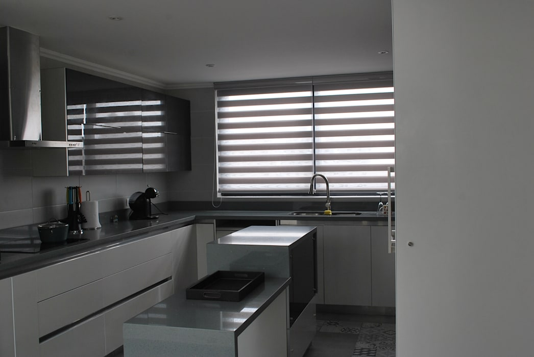 廚房 by DARQ studio, 現代風