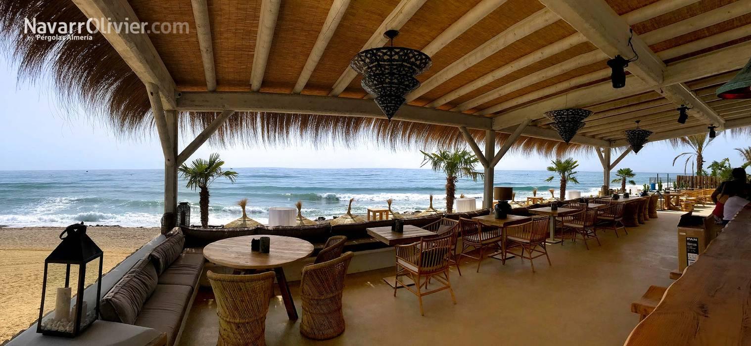 Terraza De Beach Club En Mojácar Bares Y Clubs De Estilo