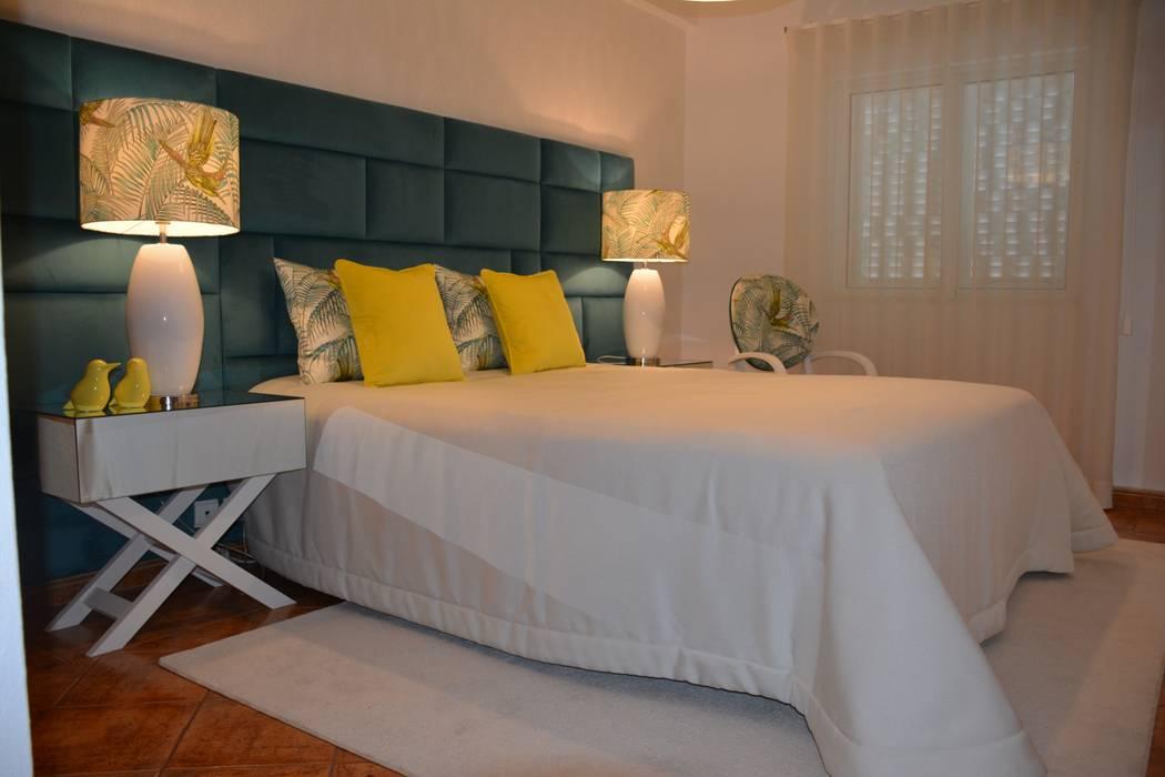 Projeto de Decoração Apartamento T1: Quartos  por Ana Oliveira Home Design