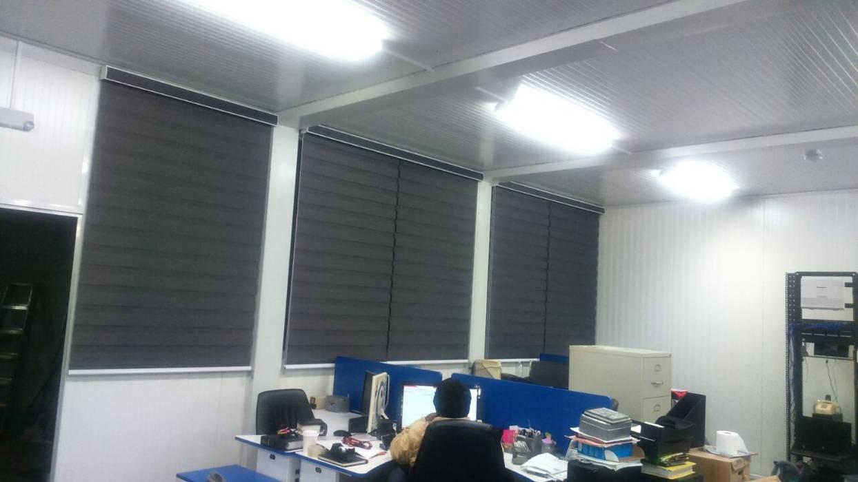 Espaces de bureaux modernes par persianas veroblinds Moderne