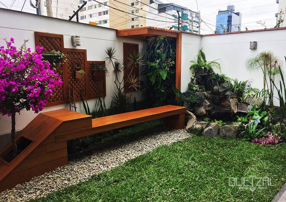 Jardines de estilo  por Quetzal Jardines,