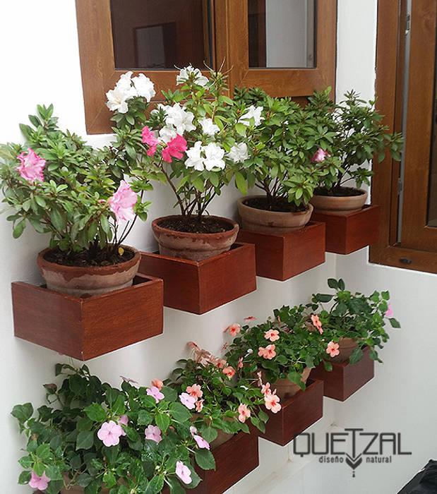 Jardines de estilo  por Quetzal Jardines