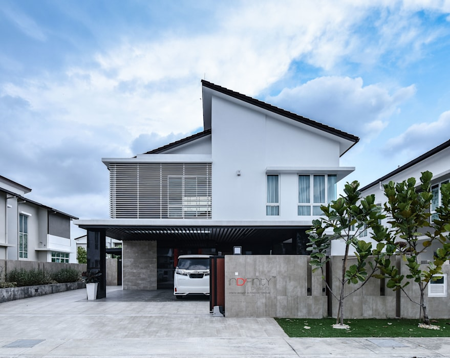 LUXURIOUS HOME:  Houses by inDfinity Design (M) SDN BHD,