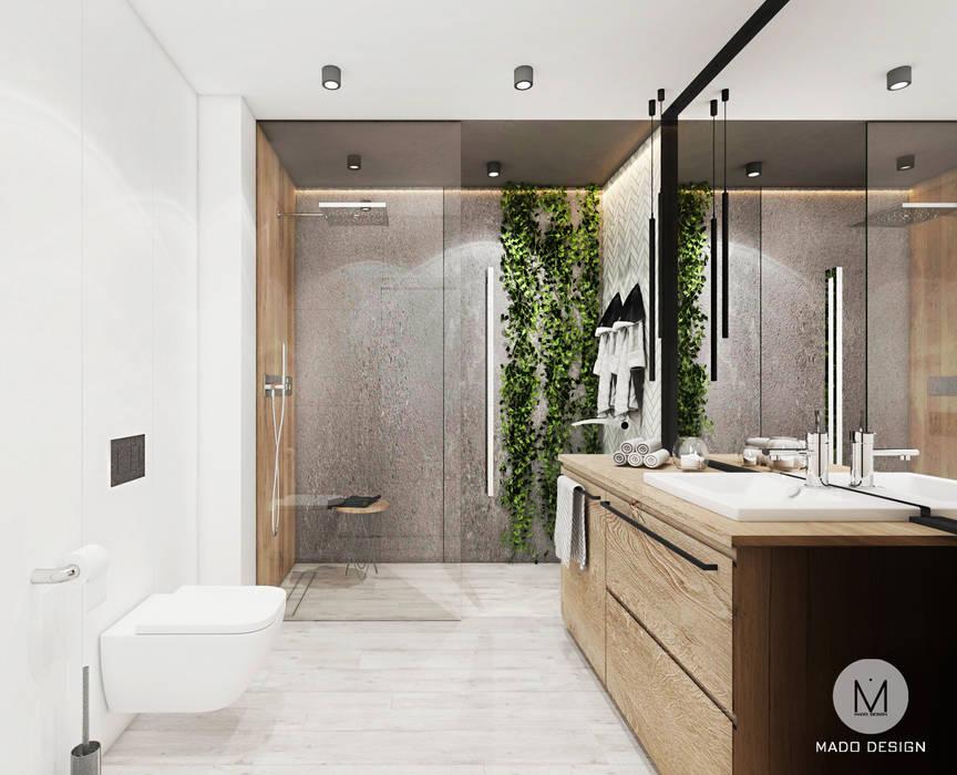 ŁAZIENKA KRAKÓW MADO DESIGN Industrialna łazienka