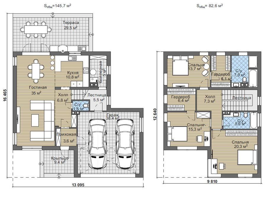 Барроу_218 кв.м.:  в . Автор – Vesco Construction