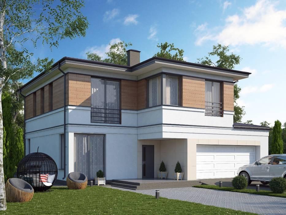 Барроу_218 кв.м.: Дома в . Автор – Vesco Construction