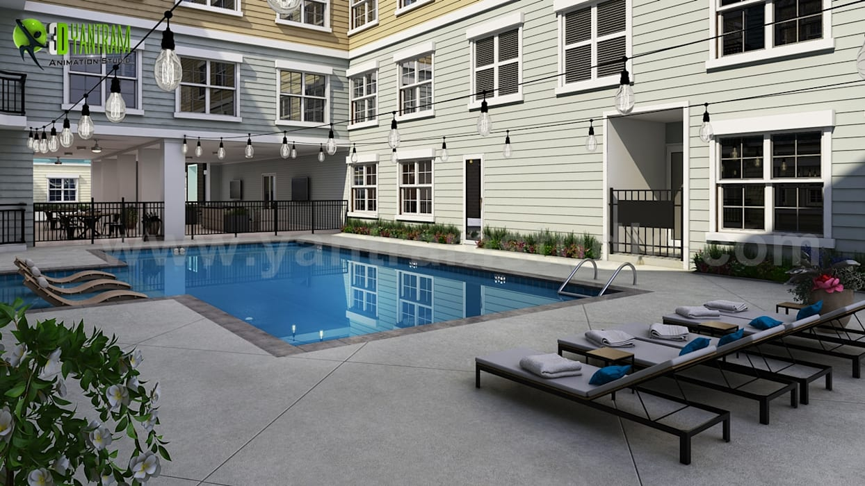 Swimming pool design ideas by yantram architectural ...