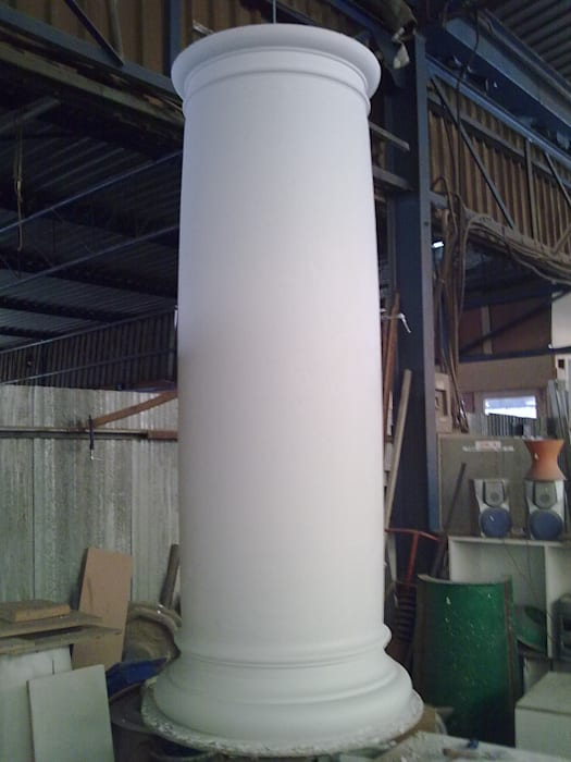 Building column, exterior column by Buildart - Fibreglass Specialists Modern Concrete