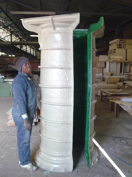 Fibreglass mould, column mould:  Multi-Family house by Buildart - Fibreglass Specialists