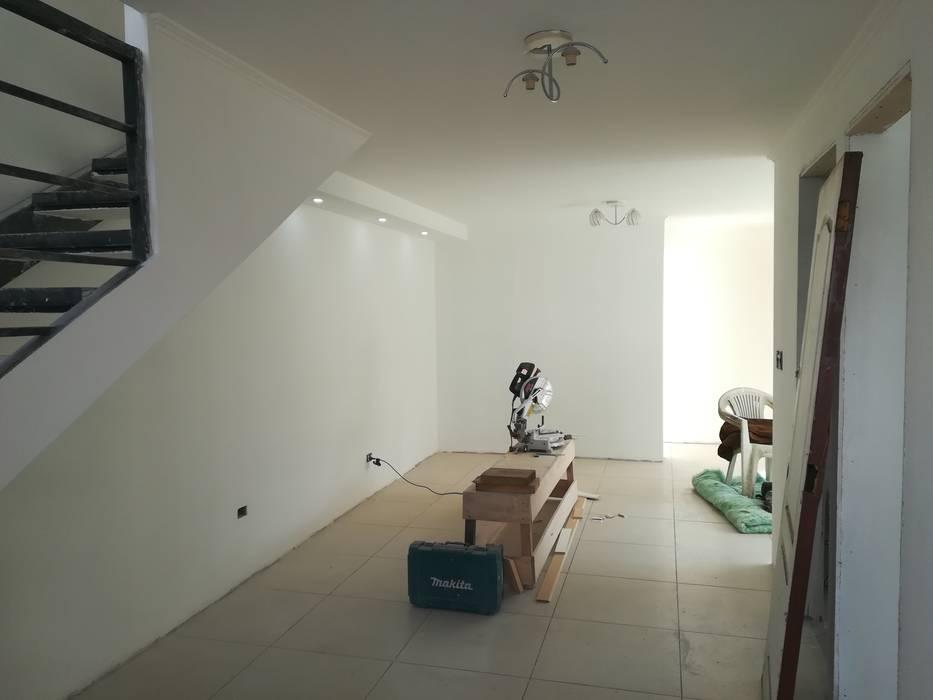 Primer piso: Livings de estilo  por MSGARQ , Mediterráneo