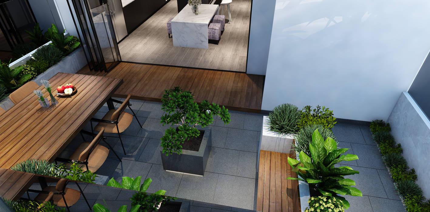 by MEG Design Studio Modern Marble