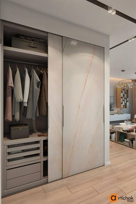 Minimalist dressing room by Artichok Design Minimalist