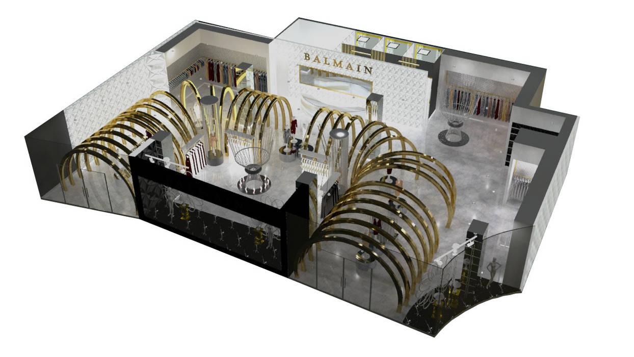 VISTA 3 de Karla Alvarez - Arquitectura de Interiores Minimalista