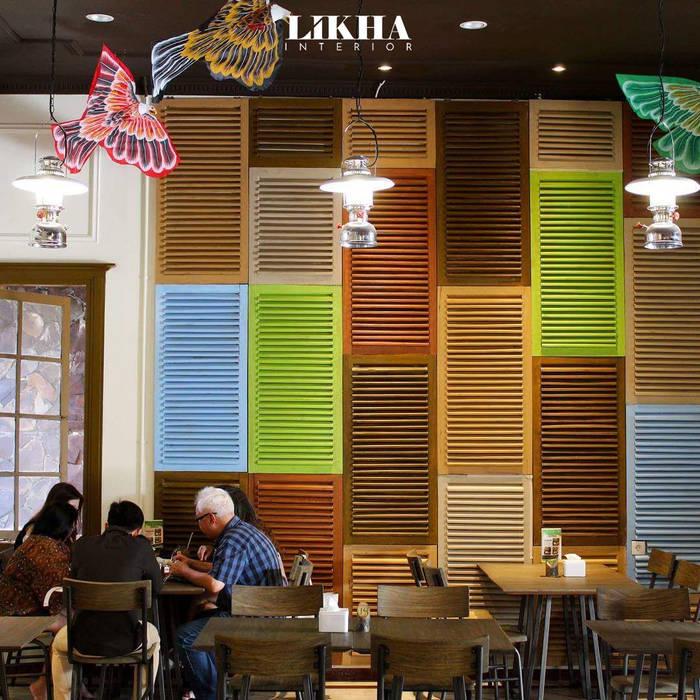 Likha Interior Asian style gastronomy Plywood Multicolored