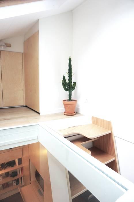 Studio Montmartre C'Design architectes d'intérieur Escalier