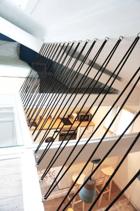Studio Montmartre C'Design architectes d'intérieur Planchers
