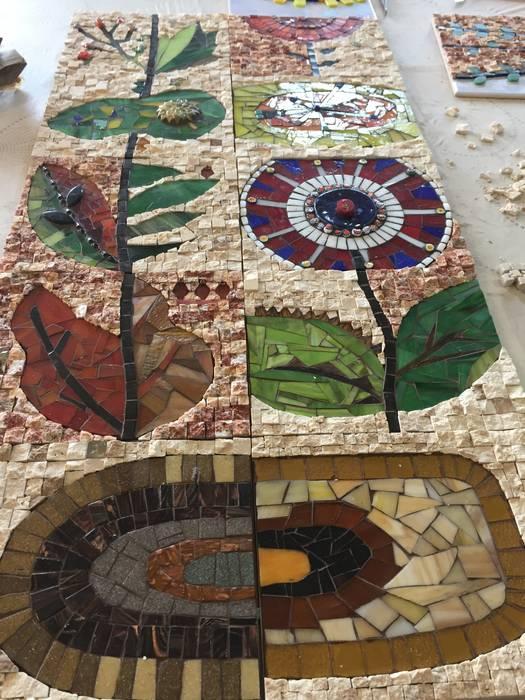 Mozaik Sanat Evi Balkon, Veranda & TerrasseAccessoires und Dekoration Fliesen