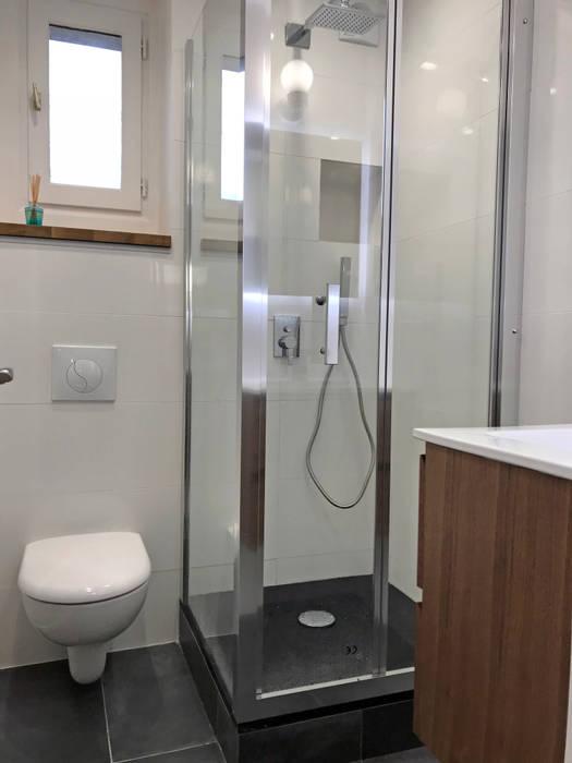 Rénovation appartement colombes salle de bain originale par ...