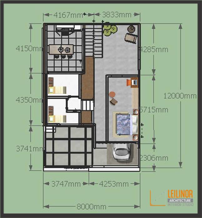 Oleh CV Leilinor Architect Minimalis