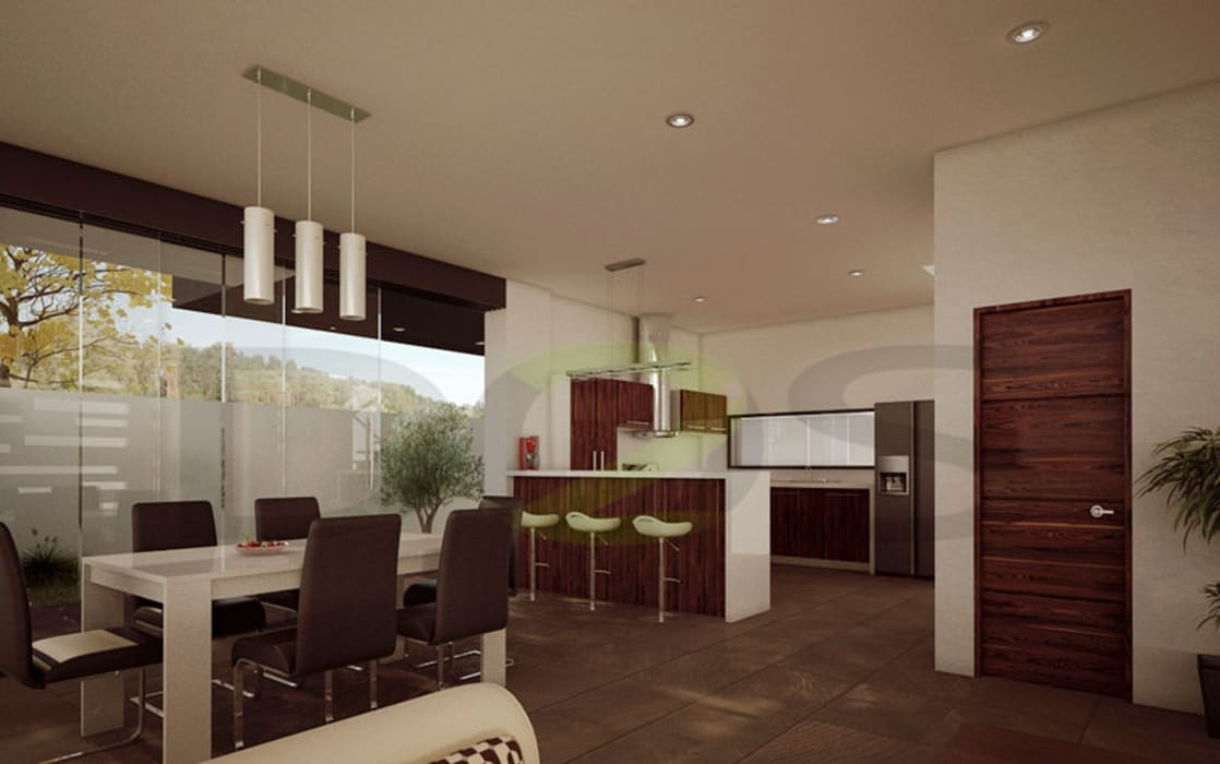 Interiores modernos casas en la rioja monteverde el for Paginas de decoracion de interiores de casas
