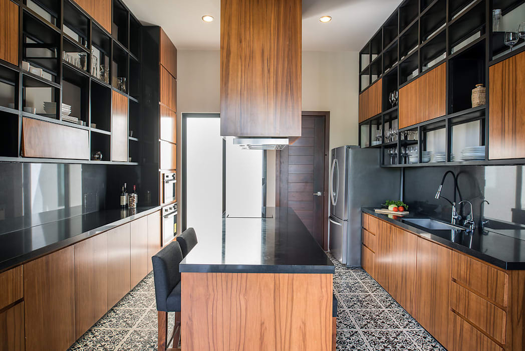 CASA 261: Cocinas de estilo  por Chehade Carter Diseño Interior