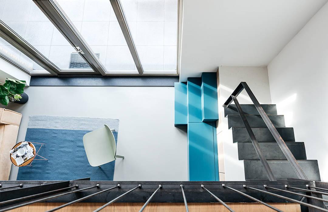 interieur ontwerp rotterdam woonkamer door studio kustlijn architecten