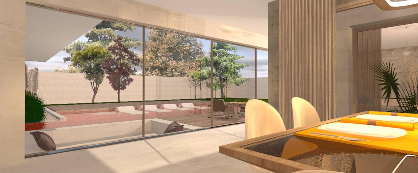 Casa La Dehesa: Chalets de estilo  por CB Luxus Inmobilien,