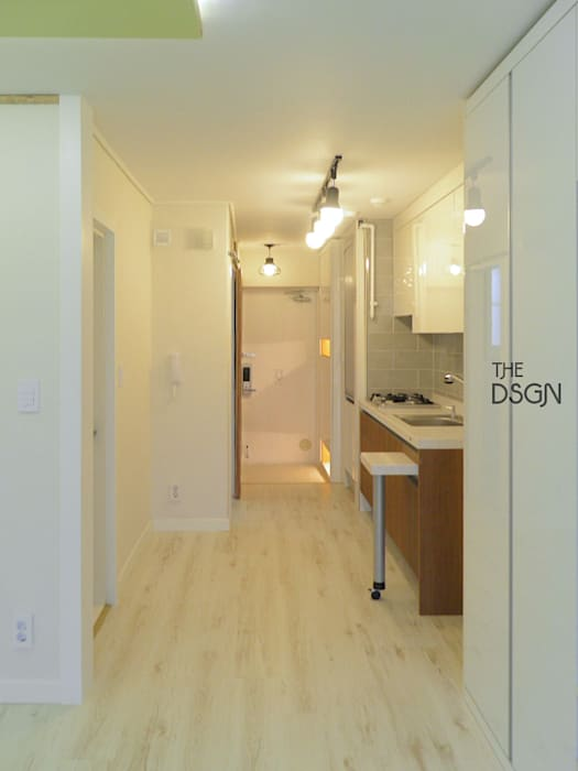 Living room by 더디자인 the dsgn, Modern