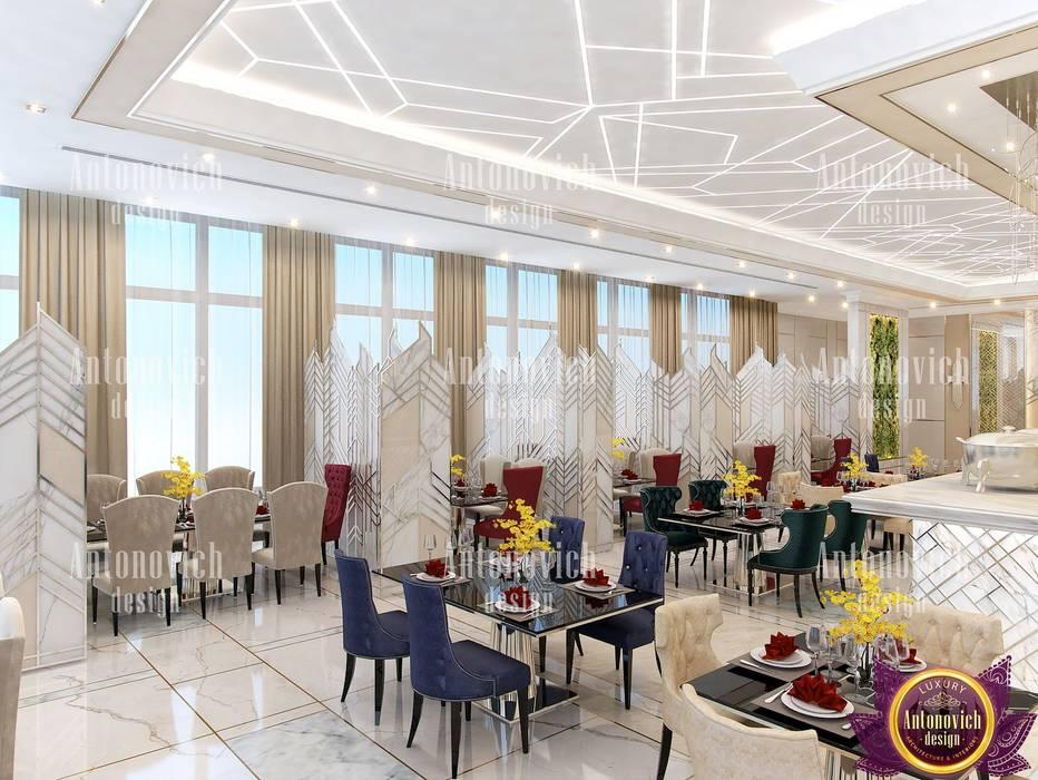 Comedores de estilo moderno de Luxury Antonovich Design Moderno