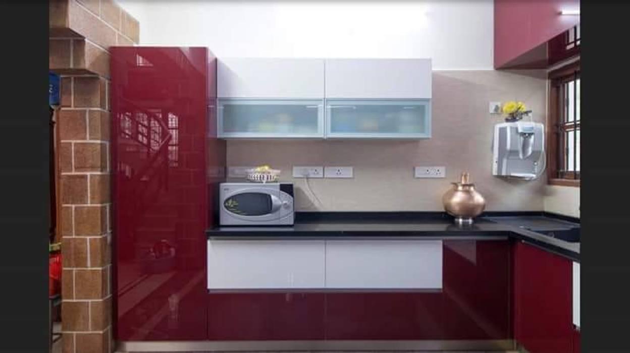 L Shape Kitchen classicspaceinterior