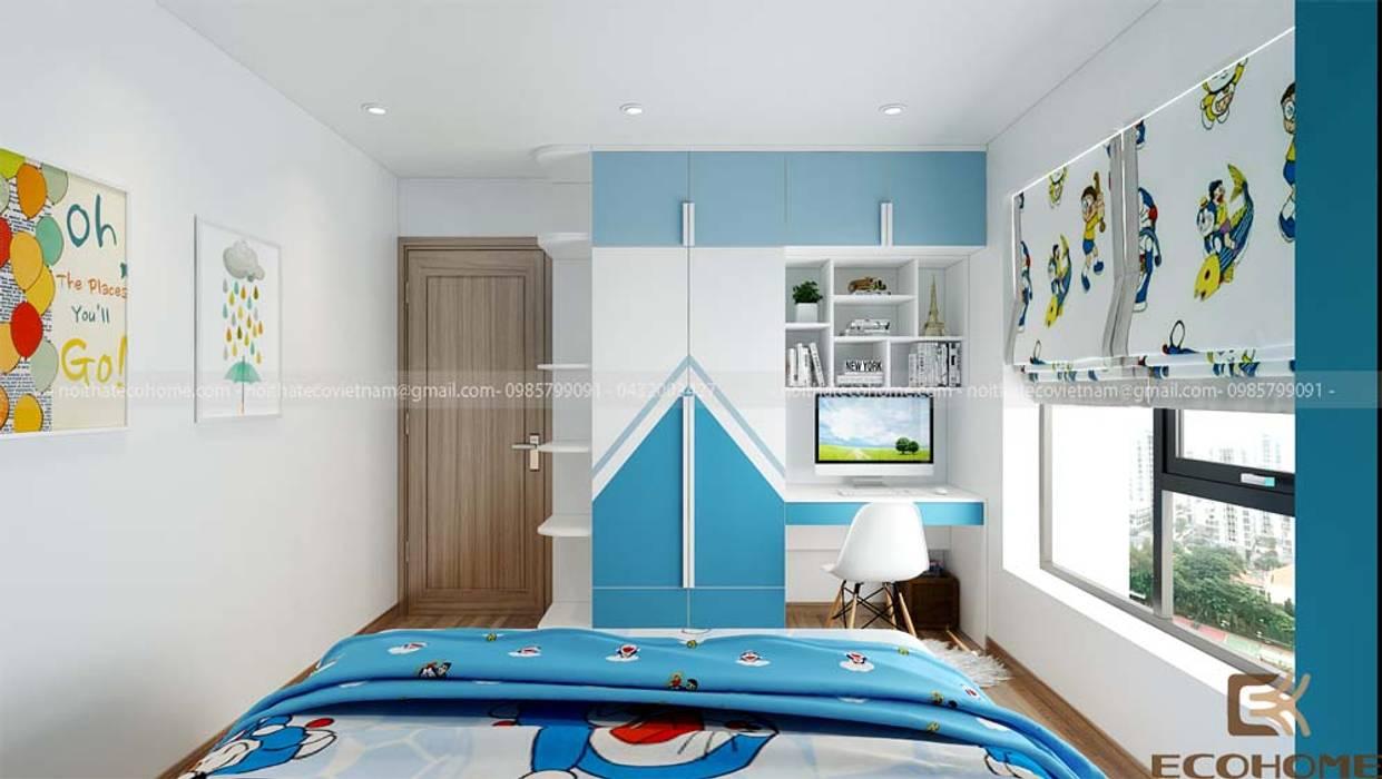 Phòng ngủ con Phòng ngủ phong cách hiện đại bởi homify Hiện đại