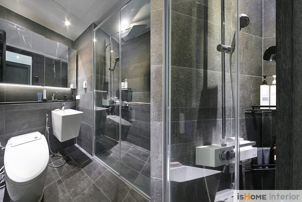 Bathroom by 이즈홈