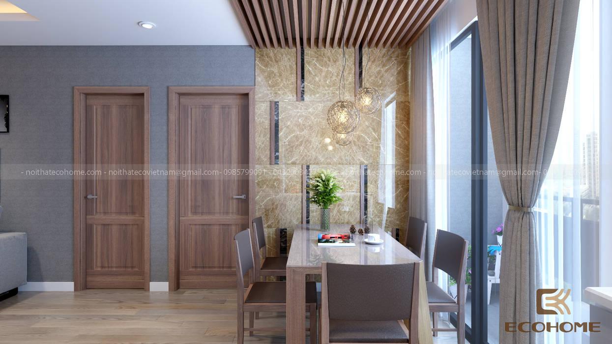 Phòng ăn Phòng ăn phong cách hiện đại bởi homify Hiện đại
