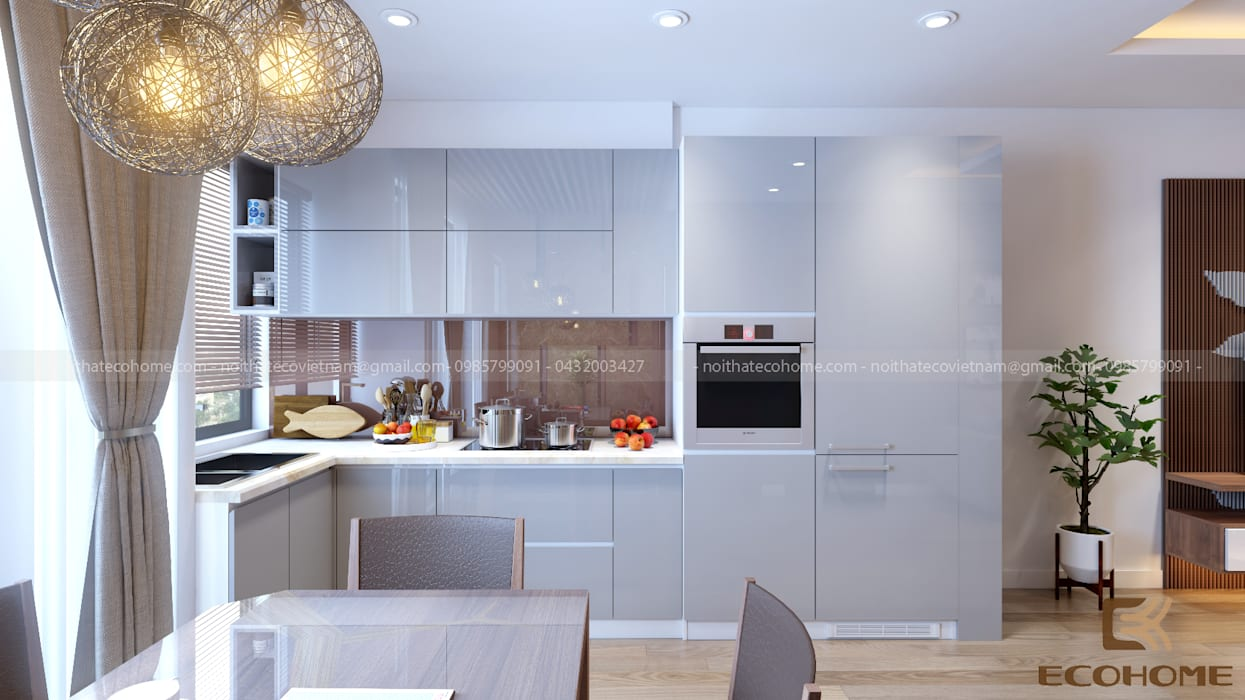 Phòng bếp Nhà bếp phong cách hiện đại bởi homify Hiện đại