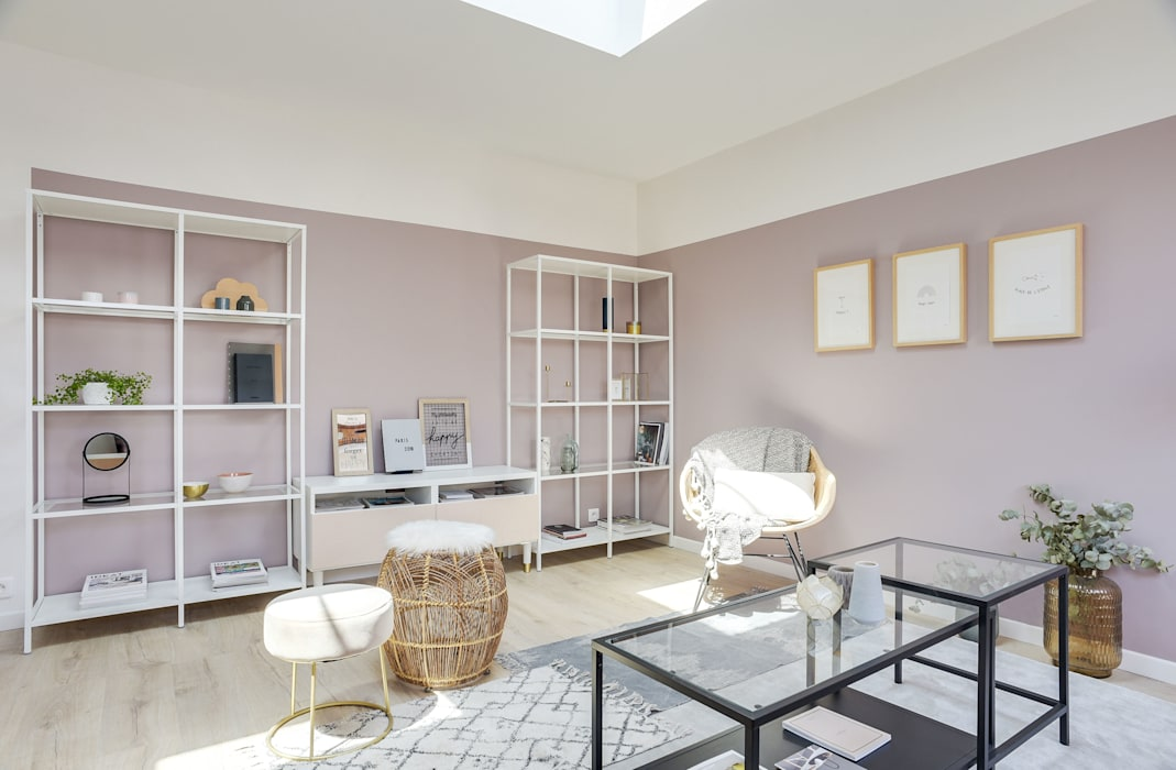 APPARTEMENT MESSINE PARIS 8:  de style  par Unlimited Design Lab
