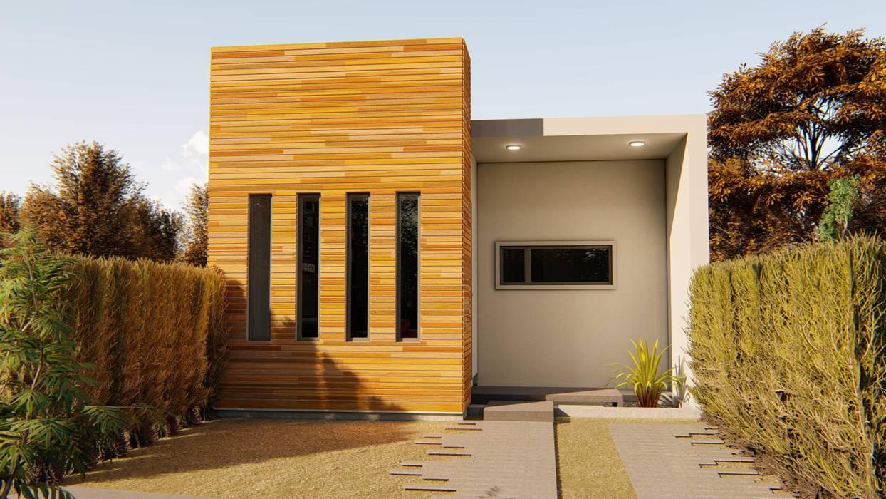 casa bioclimaticas: Casas ecológicas de estilo  por steel