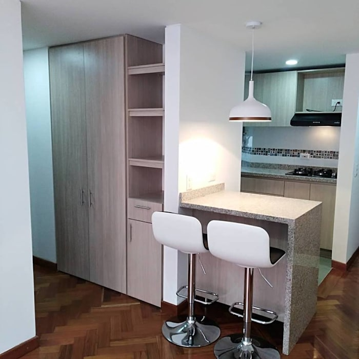 Modern dining room by Erick Becerra Arquitecto Modern