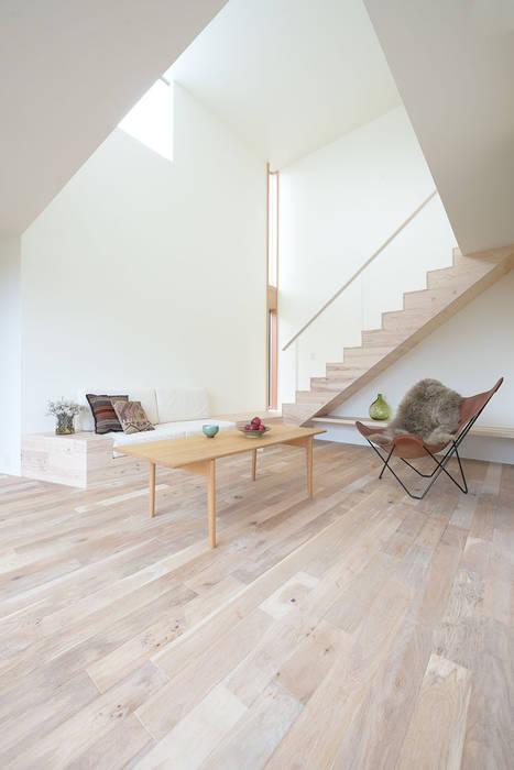 Case Study House #59 W house 北欧デザインの リビング の NASU CLUB 北欧 木 木目調