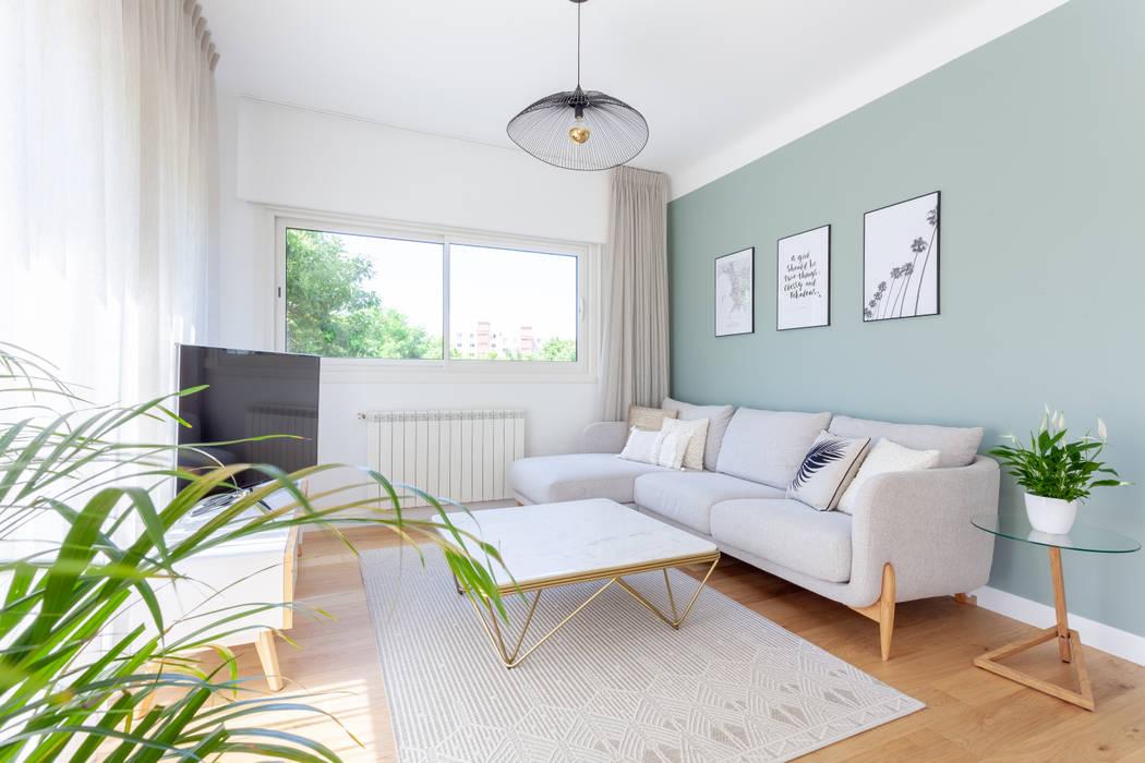 Aménagement et décoration du séjour salon moderne par gram
