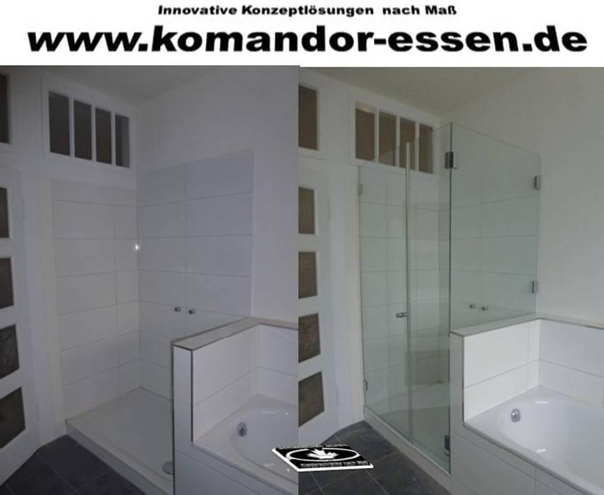 Glas duschkabinen nach maß komandor essen: badezimmer von komandor ...