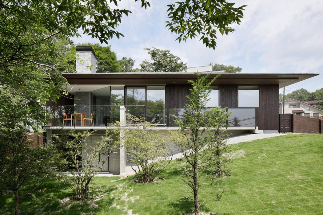 Casas de estilo  por atelier137 ARCHITECTURAL DESIGN OFFICE, Asiático Madera Acabado en madera