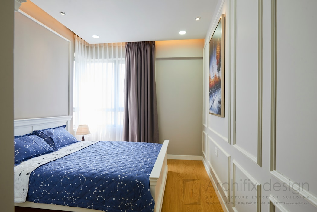 Classic style bedroom by Archifix Design Classic