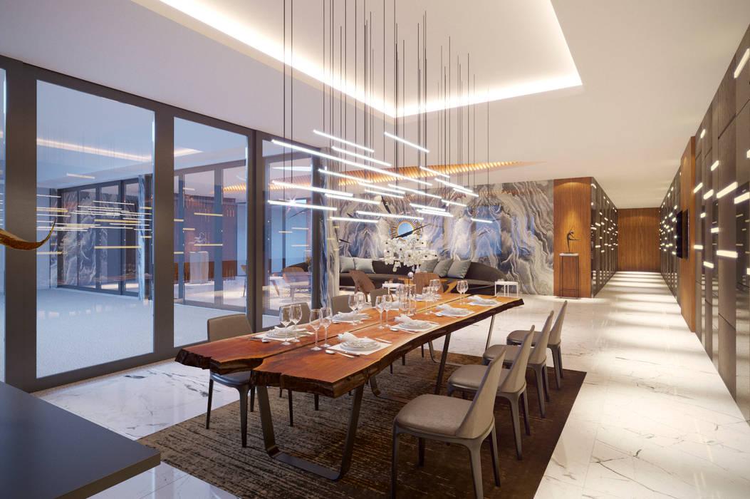 Salas de jantar modernas por Archifix Design Moderno