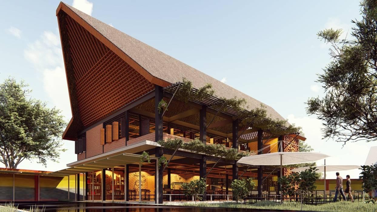 Kaaisungan Sibarrung Pr+ Architect Rumah Tropis
