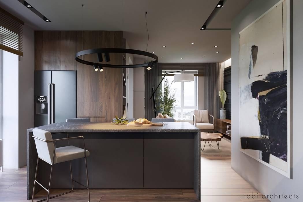 :  Küchenzeile von Tobi Architects,Minimalistisch